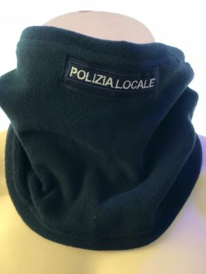 Scaldacollo in pile Polizia Locale