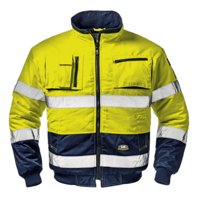 Blouson Morgan Giallo/Blu